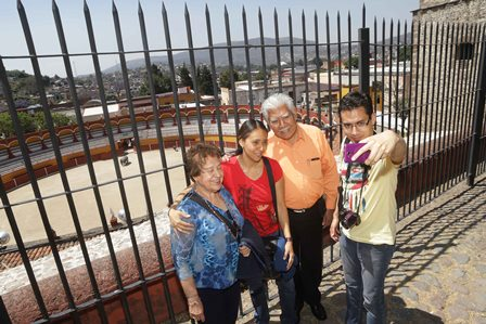 Durante vacaciones aumentó la llegada de turistas a Tlaxcala