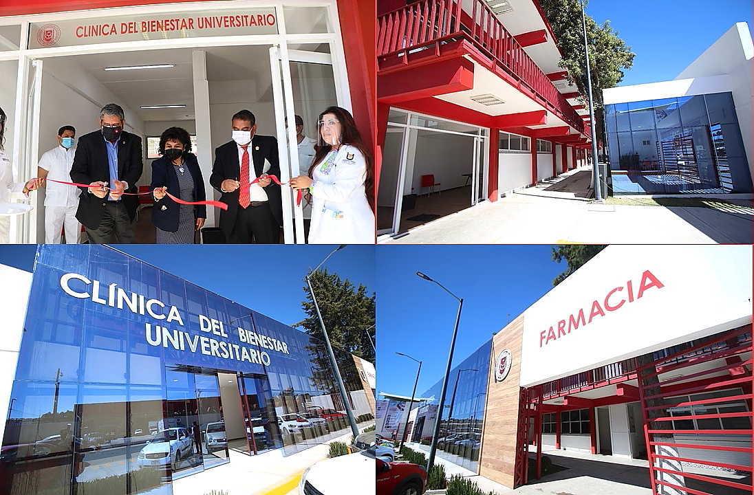 Inaugura Rector de la UATx Clínica del Bienestar Universitario