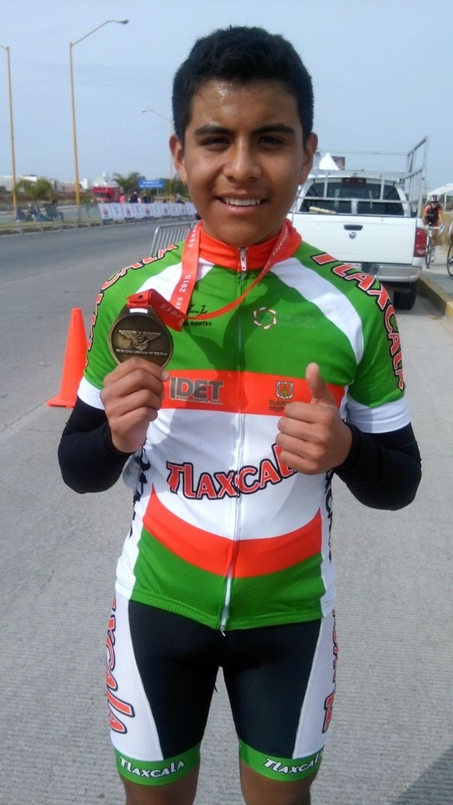 Gana Ángel Pérez Copa Federación de ciclismo en Aguascalientes