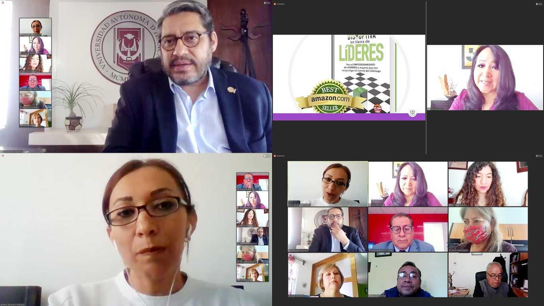 Dialogaron en la UATx sobre liderazgo y género