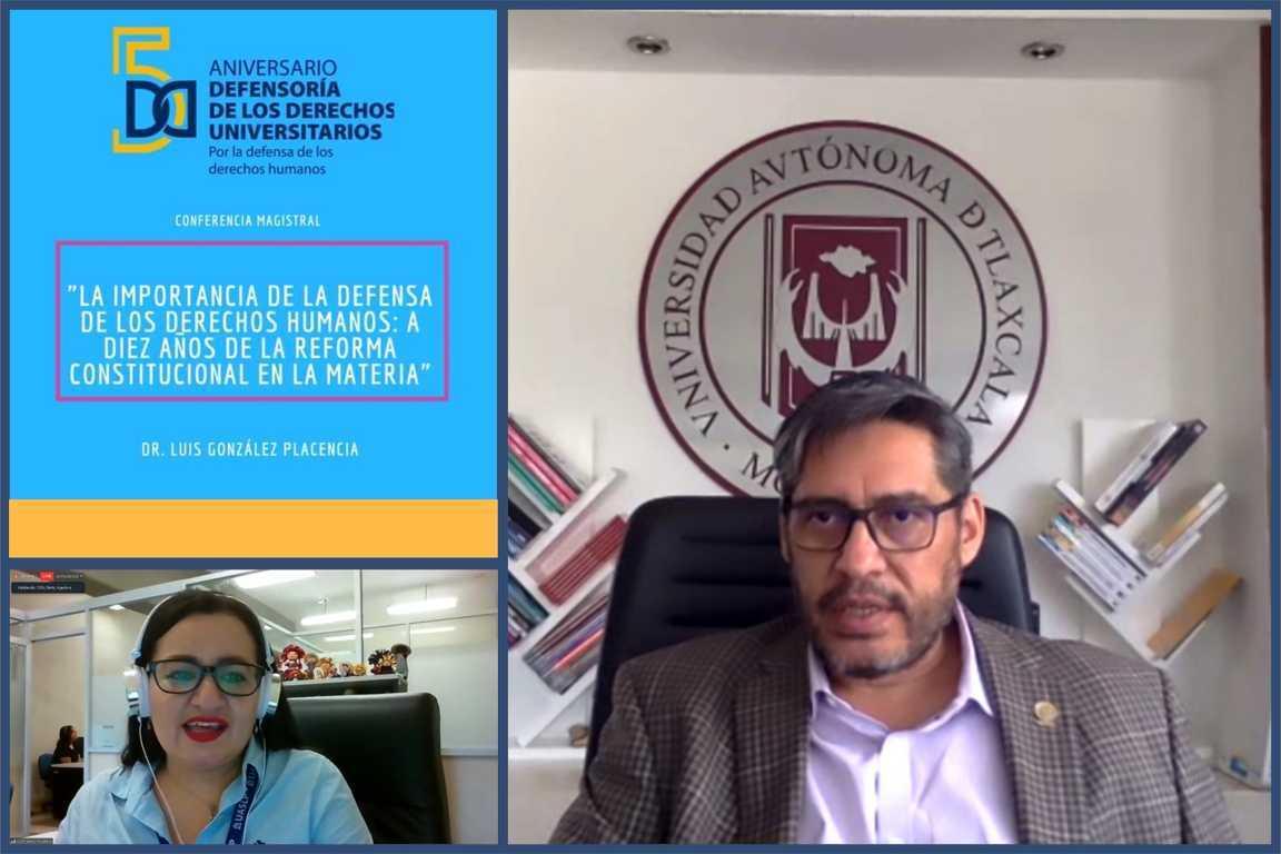 Participa UATx en aniversario de defensoría de los derechos universitarios