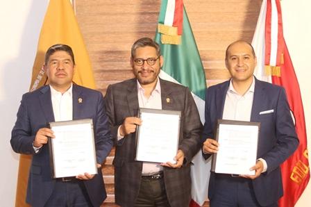 Tras convenio acuerdan colaboración UATx y Coparmex