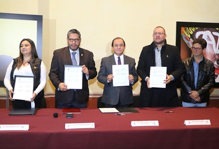 Firma UATx convenio con Asociación para la Resolución de Conflictos, A.C.