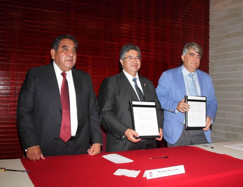 Pactan colaboración la UAT y Universidad de Alcalá de Henares
