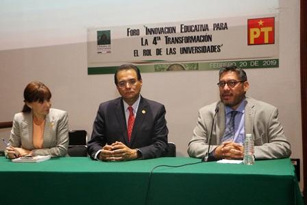 Participó rector de la UATx en foro organizado por diputados