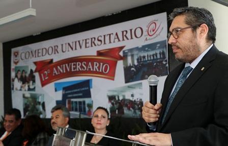 Celebra la UAT doce años del funcionamiento del comedor universitario
