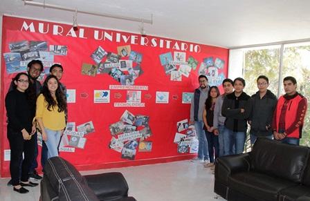 """Exponen alumnos de la UATx  en el """"Mural Universitario"""""""