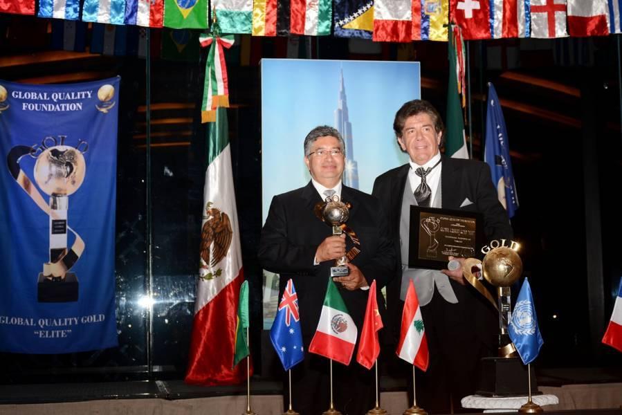 "Galardonan a la UAT con el premio internacional ""Gold Elite"""