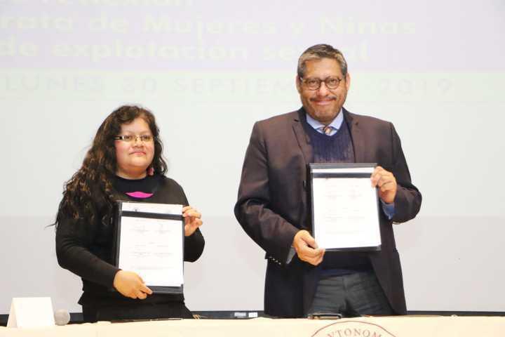Efectuaron en la UATx Jornada De Reflexión Sobre La Trata De Mujeres