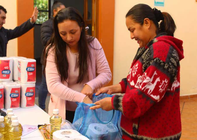 Los grupos vulnerables tienen derecho a una alimentación nutritiva alcalde de Calpulalpan