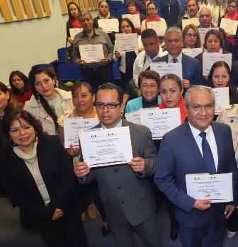Clausuran programa de Igualdad de Género de la Consejería Jurídica