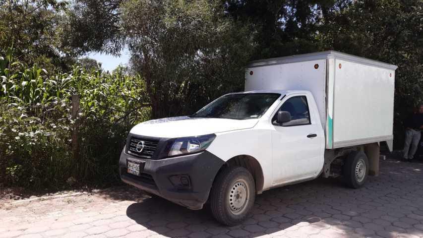 Policía municipal continúa dando resultados ubican camioneta con reporte de robo