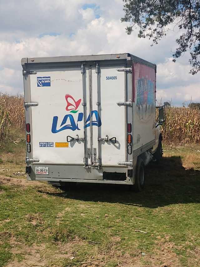 Recupera policía municipal camioneta robada