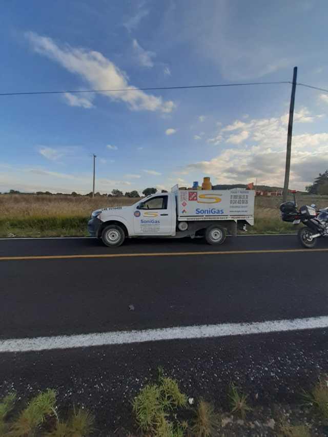 Frustra policía municipal robo de camioneta cargada con cilindros de gas LP