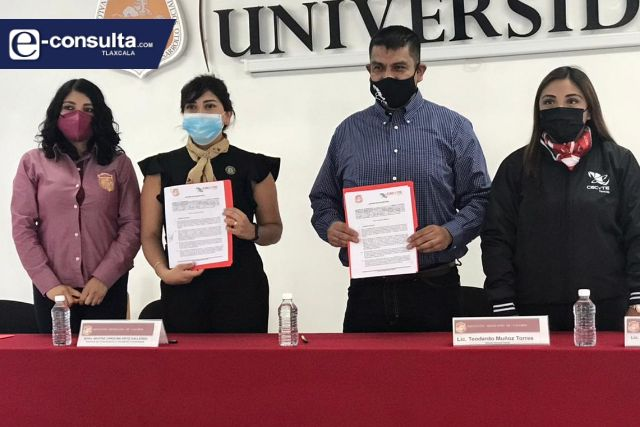 IMV – CECYTE Tlaxcala acuerdan becar estudiantes de excelencia al 100% para licenciatura