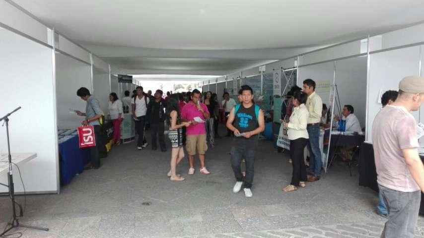 Universidades ofertaran más de 4 mil becas en el zócalo de Tlaxcala