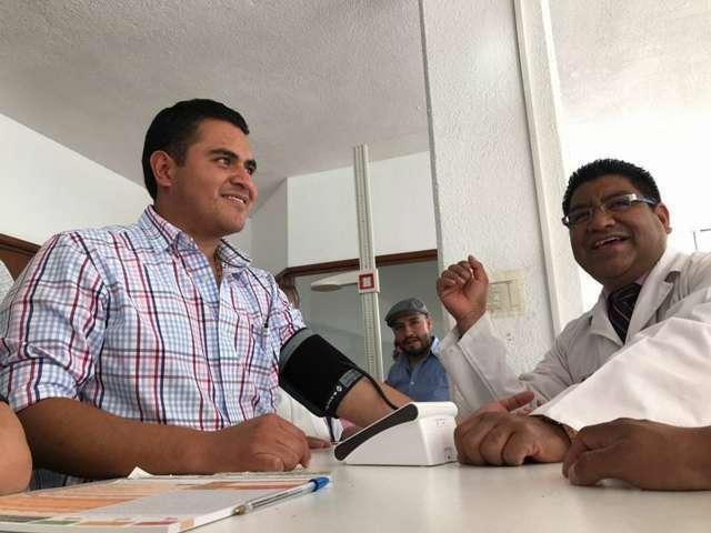 Jornada de Salud en el H. Ayuntamiento de Apizaco