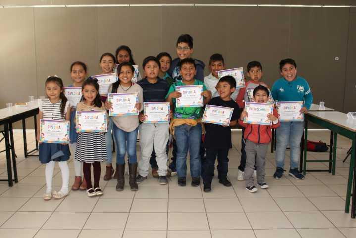 Concluye Curso de Verano Infantil en la Universidad Tecnológica de Tlaxcala