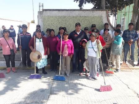 Diputado Víctor Castro encabeza jornada de limpieza en Velazco