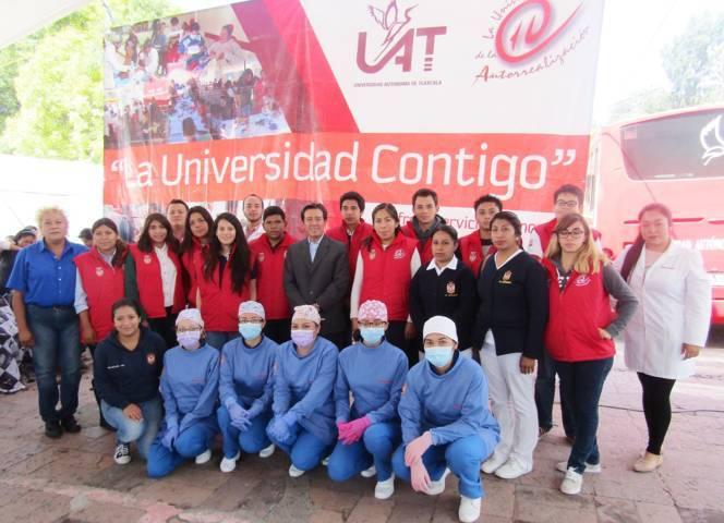 Inició UAT actividades de los programas: Universidad Saludable y La Universidad Contigo