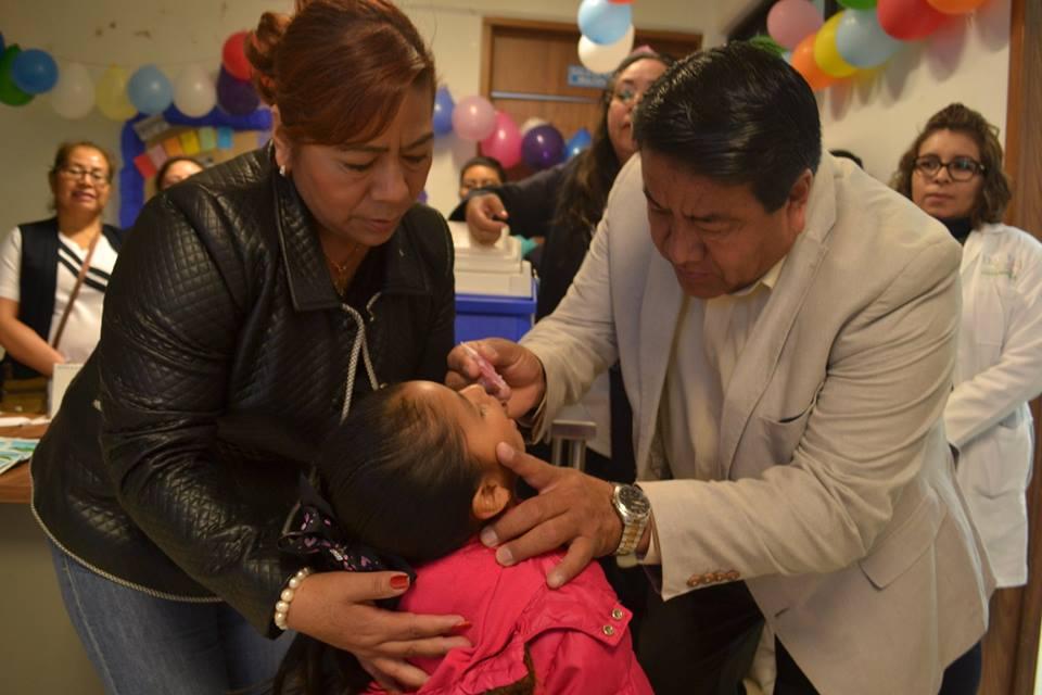 Arranco la Primer Semana de Vacunación en Tlaltelulco