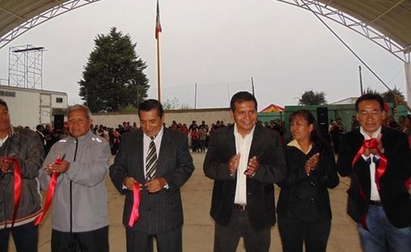 También gestionamos recursos para obras en Amaxac: Humberto Vega