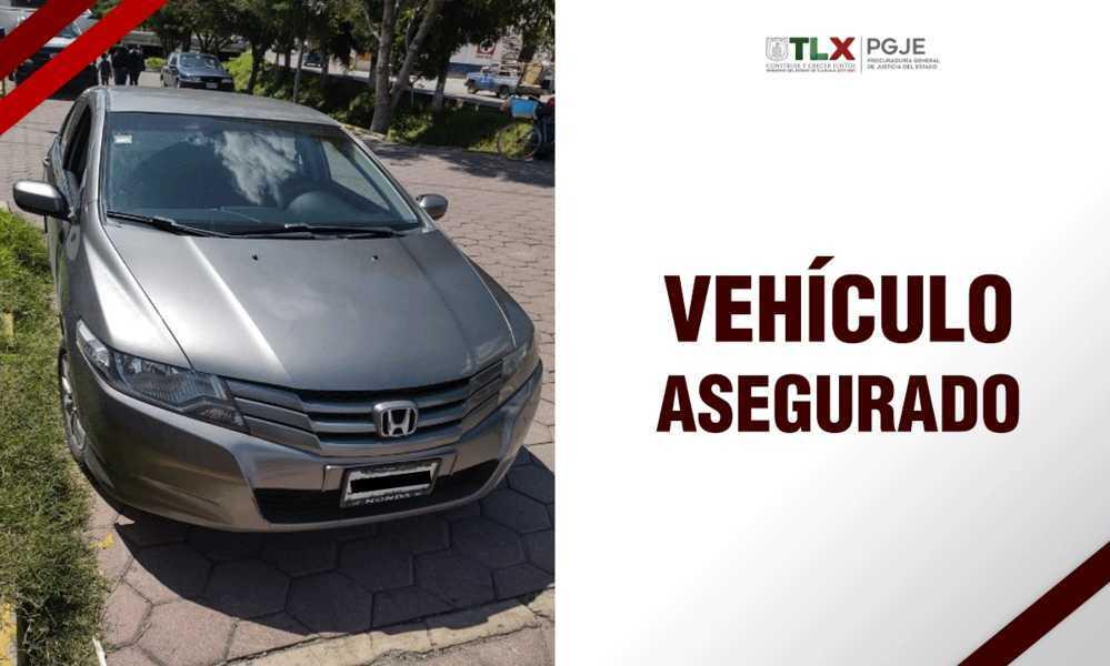 Recupera PGJE vehículo con reporte de robo en el estado de Jalisco