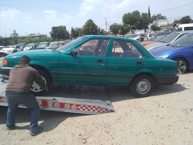 Recupera seguridad pública de Zacatelco vehículo reportado como robado.