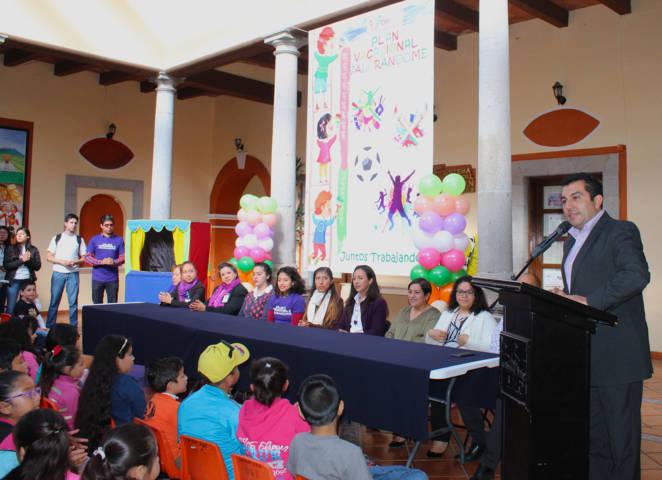 "Alcalde pone en marcha plan vacacional ""Valorándome 2018"""