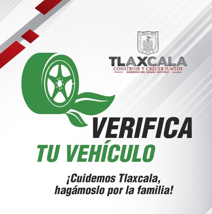 Otorga incentivos para cumplir con la verificación vehicular en Tlaxcala