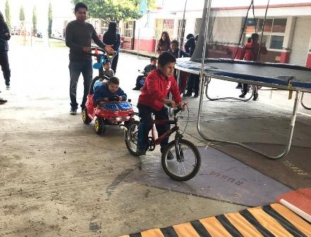Promueve Ayuntamiento de Zacatelco la educación vial en estudiantes