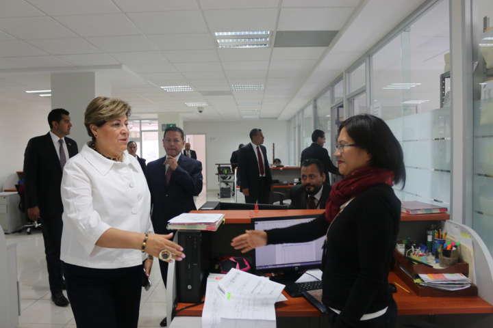 Recibe PGR Tlaxcala resultados de evaluación técnico jurídica por parte de Visitaduría General