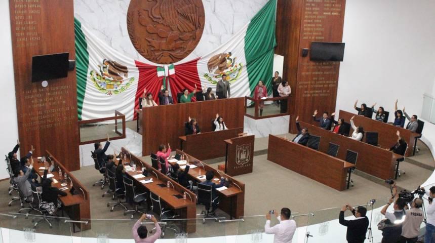 Congreso de Tlaxcala aprueba  minuta de reforma  constitucional de Guardia Nacional