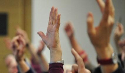 Candidatos agarran de bandera el regreso del voto a comunidades