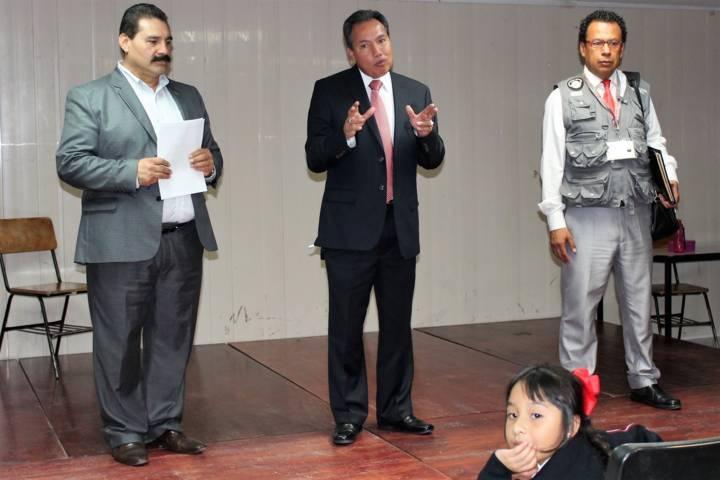 Organiza INE Tlaxcala elección infantil en escuela primaria Manuel Lardizábal