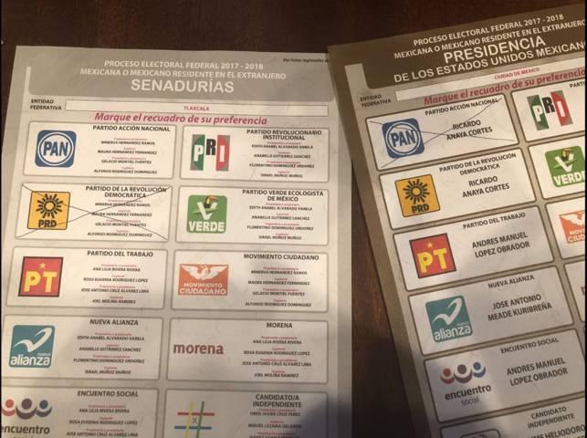 Mexicano residente en el extranjero manifiesta su voto por Gelacio Montiel Fuentes