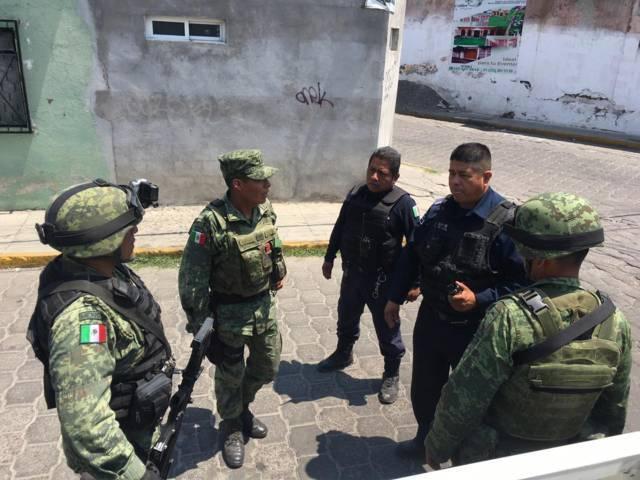 Alcalde realiza acciones para brindar mayor seguridad a los pobladores