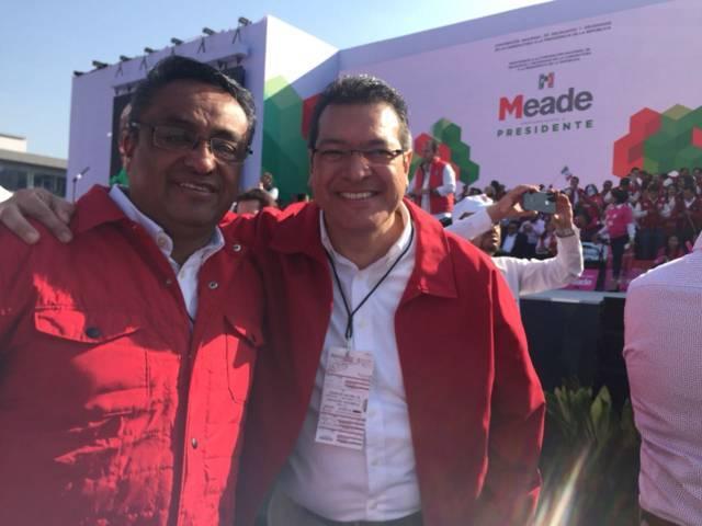 Tlaxcala presente en la ratificación de Meade como candidato del PRI