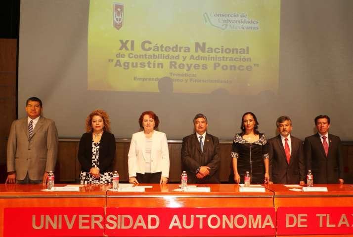 Se inaugura en la UAT la Cátedra Nacional CUMex en Contabilidad y Administracion