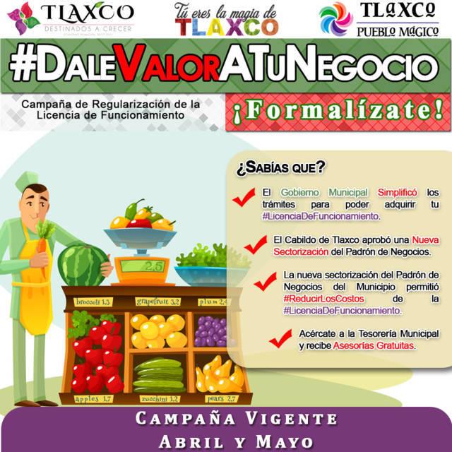 Anuncian simplificación de trámites en Tlaxco