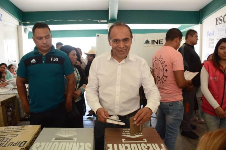 Llama Tomas Orea a una jornada electoral limpia y eficiente