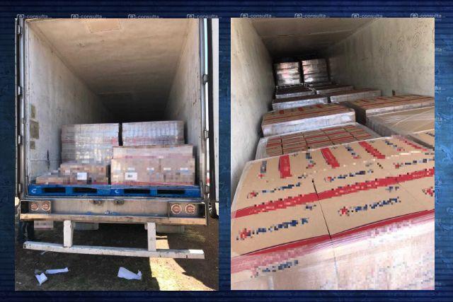 Se recuperaron 26 toneladas de mercancia robada en Tlaxcala
