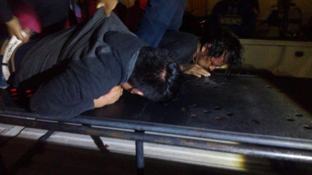 Policías resultan heridos al frustrar intento de linchamiento en Contla