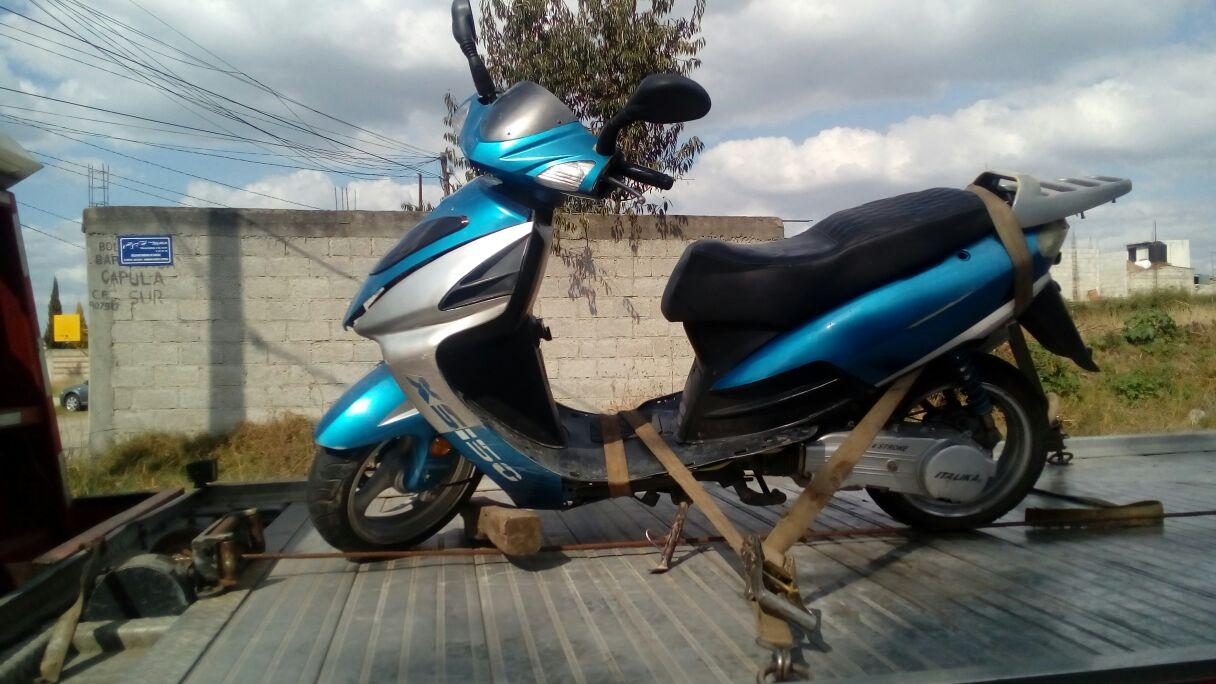 """Realizan operativo """"Motocicleta"""" en Zacatelco"""
