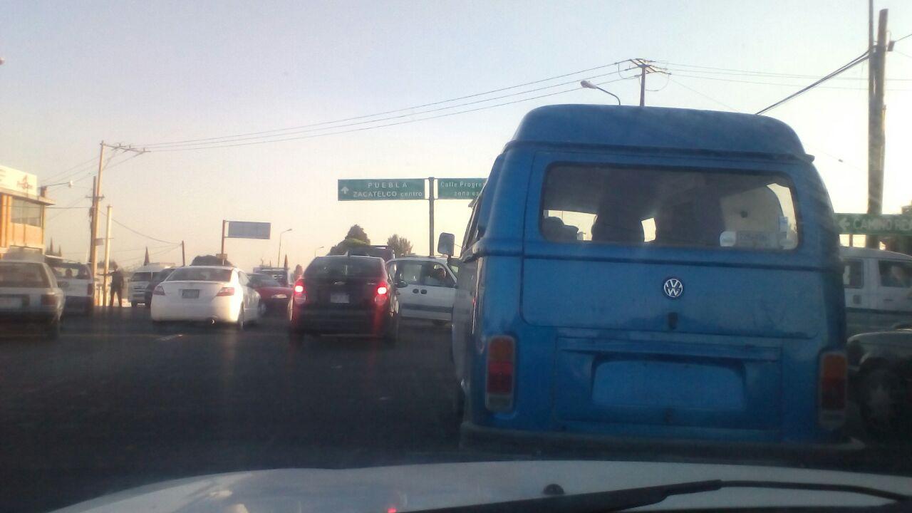 Policías prepotentes y agresivos en Zacatelco