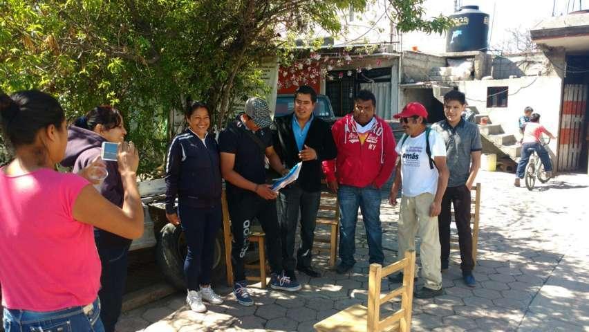 Realizará secretario General del PES-Tlaxcala, gira en el estado