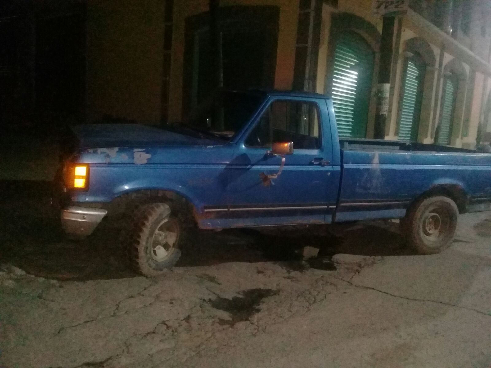 Policía Municipal recupera camioneta en operativo camioneta robada