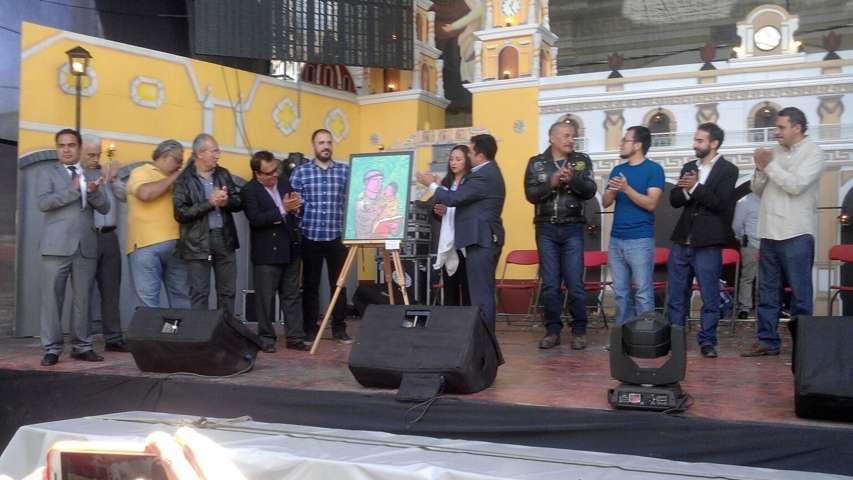 Inaugura alcalde de Calpulalpan exposición pictórica
