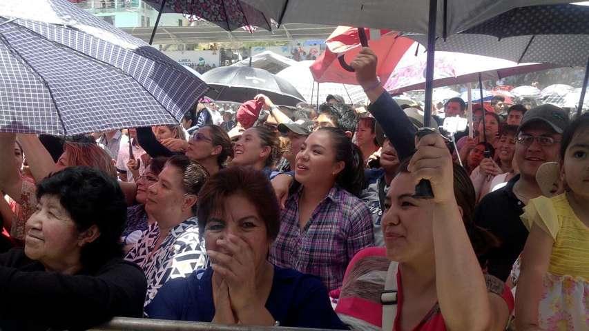 Gran cierre de Feria Patronal en Calpulalpan