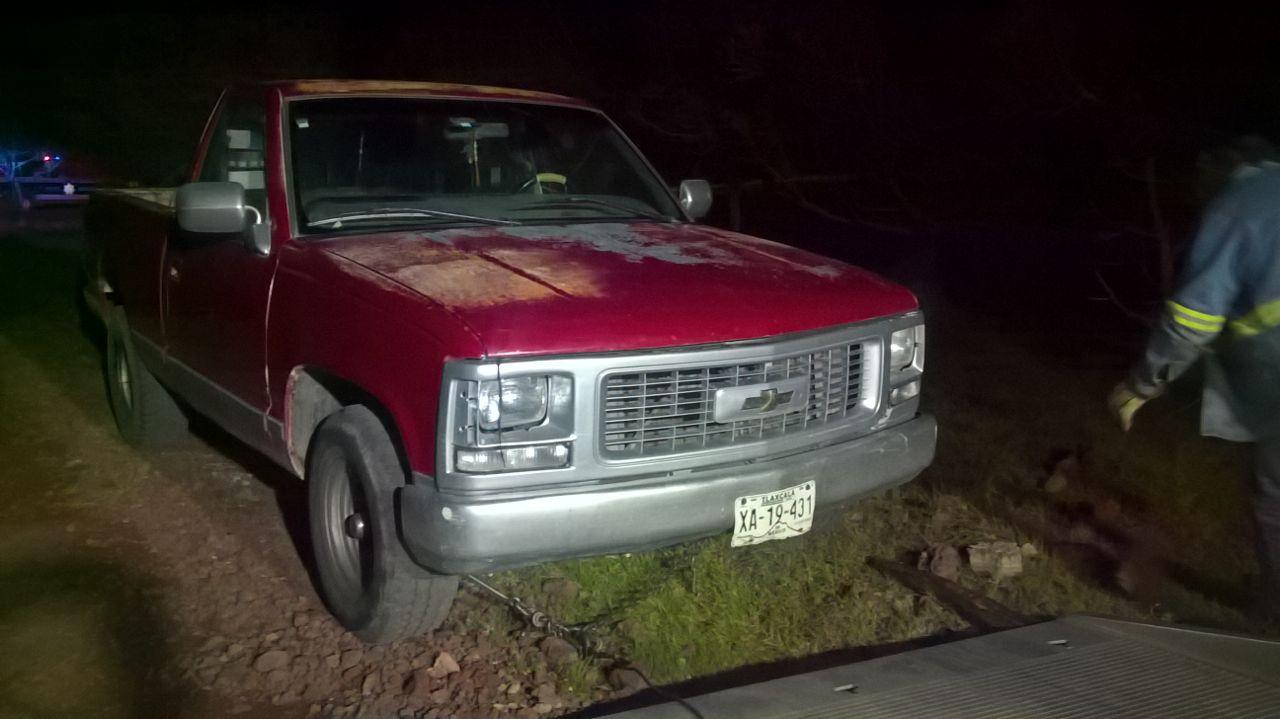 Policía de Tetla de la Solidaridad recupera unidad vehicular